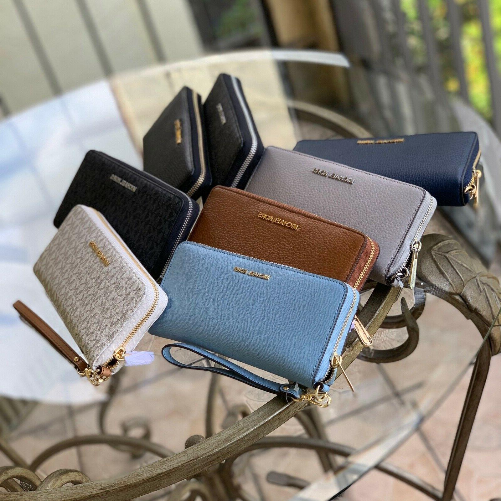 women leather long wallet card holder phone