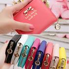 Women  Leather Wallet Zip Small Card Holder Coin Purse  Ladi