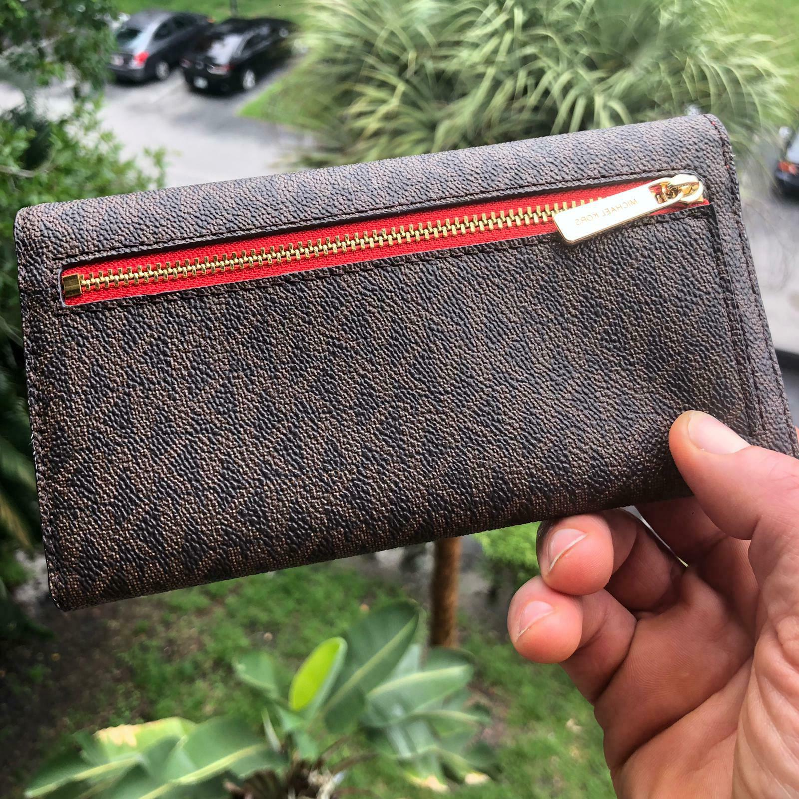 Michael Kors Leather Wallet Card Holder id