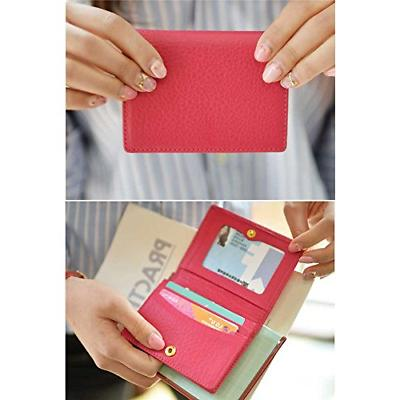 Women's Business Name Card Credit Card Case Wallet