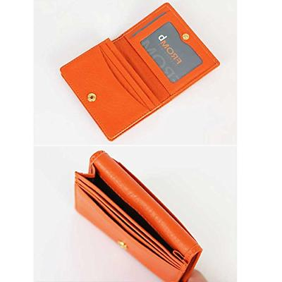 Women's Genuine Leather Name Credit Card Case