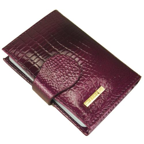 women s leather credit card case wallet