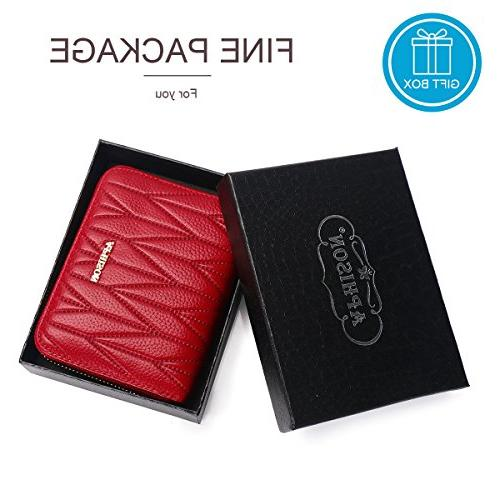 APHISON 24 Slots Leather Wallet 7120