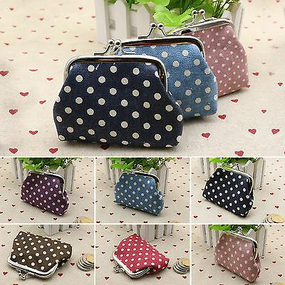 Women Dotted Wallet Portable