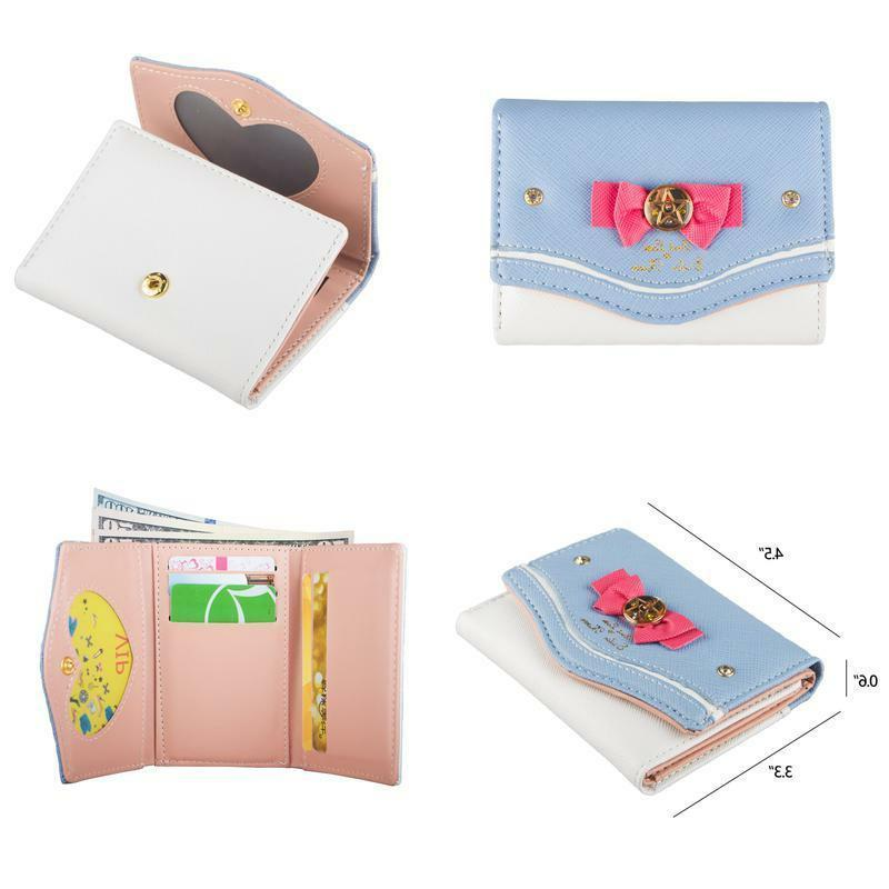 womens cute candy small wallet sailor moon