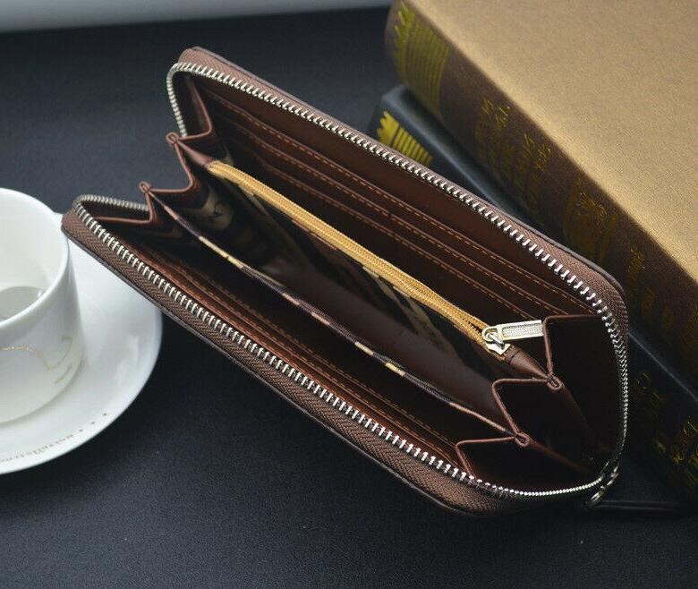 Womens Leather Card Holder STOCK