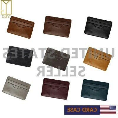 YCM0401 Men's Id Card Holder 5 Holder - Available in Differe