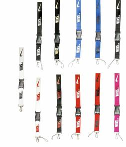 Nike Lanyard Neck Strap With Strong Metal Clip For ID Card P
