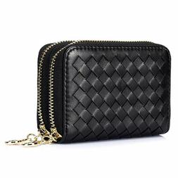 Large Capacity Women Cards Holder Wallet Car Key Case Coin I