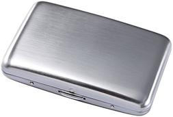 Stainless Steel Rfid Blocking Credit Card Holder for Men Wom
