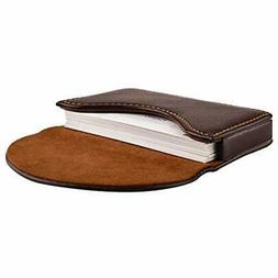 Maxgear Leather Business Card Holder Business Cards Case Wit
