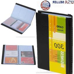 Leather Business Cards Holder Case Organizer 300 Name ID Cre