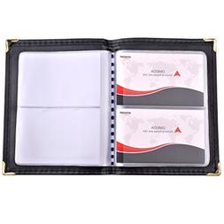 MaxGear Professional Leather Journal Business Card Book Name