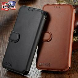Leather Wallet Flip Card Holder Cover Case For iPhone 13 12