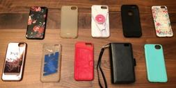 Lot of 10 iPhone 6S phone cases wallet Nike credit card hold