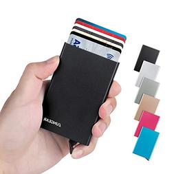 lungogo rfid credit card holder minimalist slim