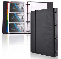 MaxGear Professional Business Card Holders, Book Holder Name