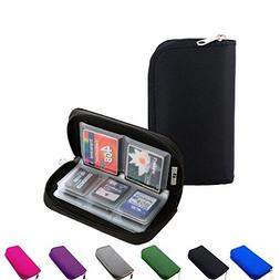 Litop Memory Card Carrying Case Holder Pouch Bag 8 Pages and