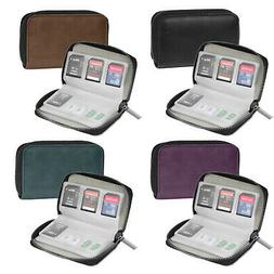Memory Card Case,SD CF TF Storage Card Holder Organizer for