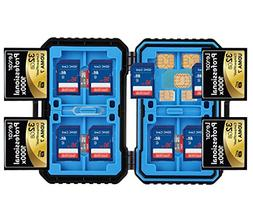 iLifeTech Memory Card Collection Case, Professional Waterpro