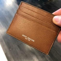 men leather credit card holder card case