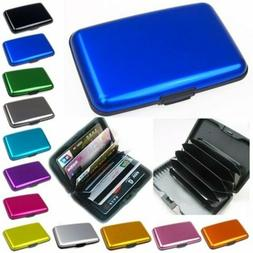 Men's Credict Card Case Water-Prevented Business ID Card Hol