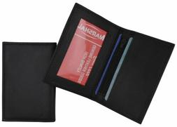 Men's Genuine Leather Bifold ID-Credit Card Holder Small Thi