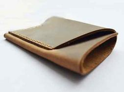 men women wallet purse cow Leather Card Cases ID driver lice
