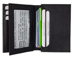 MENS Expandable Business Card Holder/Wallet - Credit Card Sl