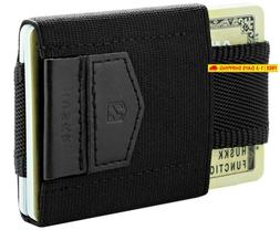 Huskk Mens Wallet Minimalist Slim Thin Front Pocket Card Hol