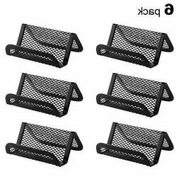 MaxGear Metal Mesh Business Card Holder for Desk Office Busi