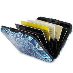 Elfish Mini RFID Aluminum Wallet Credit Cards Holder Metal I