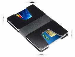 ROCO MINIMALIST Aluminum Slim Wallet RFID BLOCKING Money Cli