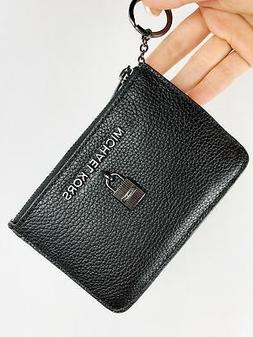 New Michael Kors Adele Small Leather Luggage Top Zip Coin po