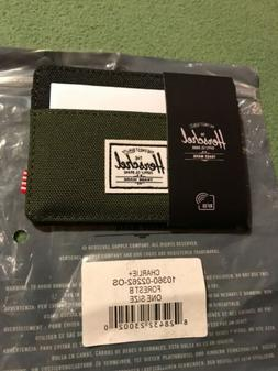 New W/Tags Herschel Supply Co. Men's Charlie RFID Blocking C