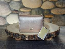 New with Tags, MICHAEL Michael Kors Crossgrain Leather Key R