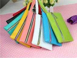 New Women Lady's Small Wallets Coin Purse Phone Card Holder
