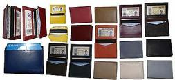 New women men's Leather Business card case. ID/credit card f