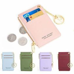 NEW Women PU Wallets Leather Purse Card Holder Bag 5 Colors