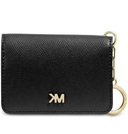 NWT AUTHENTIC MICHAEL KORS MONEY PIECES LEATHER KEY RING CAR