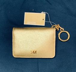 NWT MICHAEL Kors Leather Key Ring Card Holder Money Pieces P
