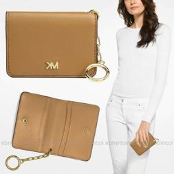 NWT 🍂 Michael Kors Money Pieces Leather Card Holder Walle