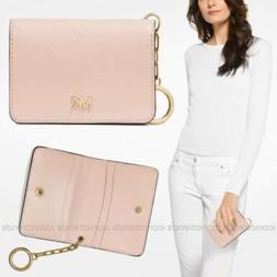 NWT 🌸 Michael Kors Money Pieces Leather Card Holder Walle