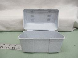 """Newell Office Products Index Card Holders 4""""x 6"""" Gray Organi"""