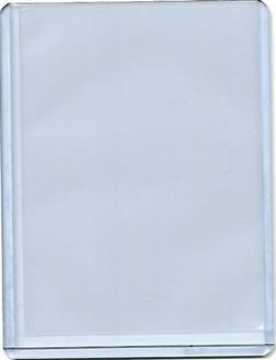 """One BCW 3""""X4"""" Trading Card Hard Plastic Top Load Holder and"""