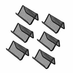 Miayon Pack of 6 Mesh Collection Business Card Holder