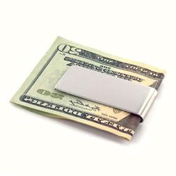 Personalized Stainless Steel Money Clip Free Engraving