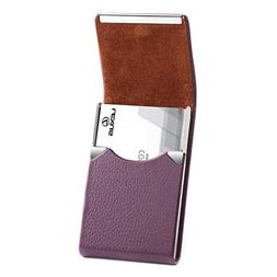 MaxGear PU Leather Business Card Holder for Women Profession