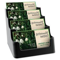deflect-o Recycled Business Card Holder, Holds 150 2 X 3 1/2