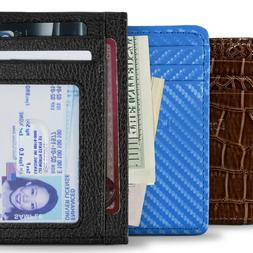 CoreLife RFID Blocking Front Pocket Slim Wallets for Men / W